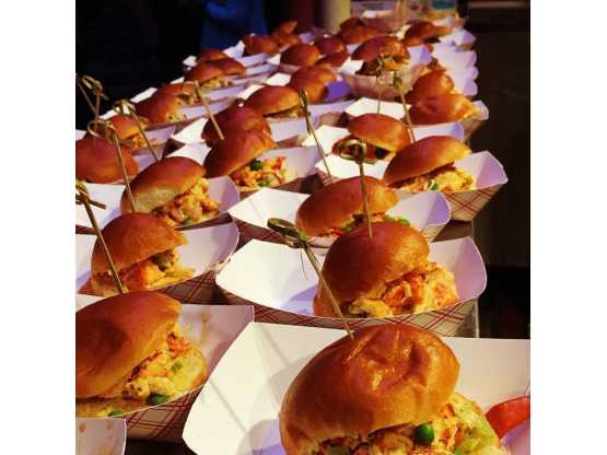 Airstream Catering sliders