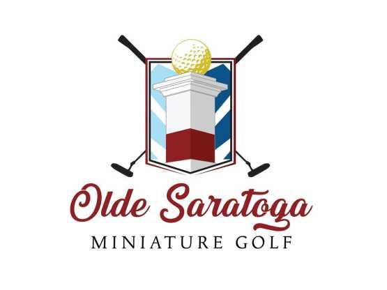 Olde Saratoga Mini Golf logo