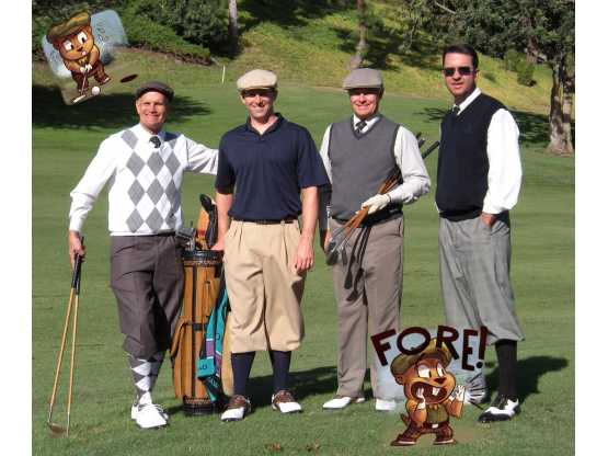 GF Country Club foursome