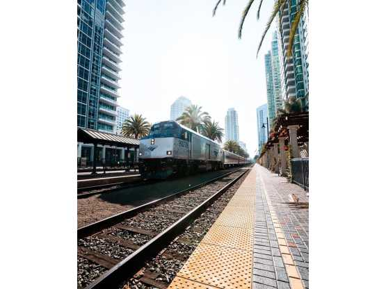 Amtrak photo of train