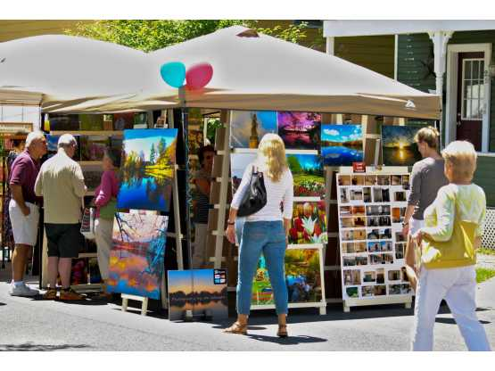 Beekman Street Arts Fair vendors