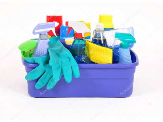 April Fresh cleaning supplies