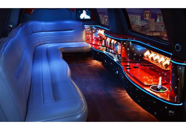 14 Passenger Ford Excursion Interior