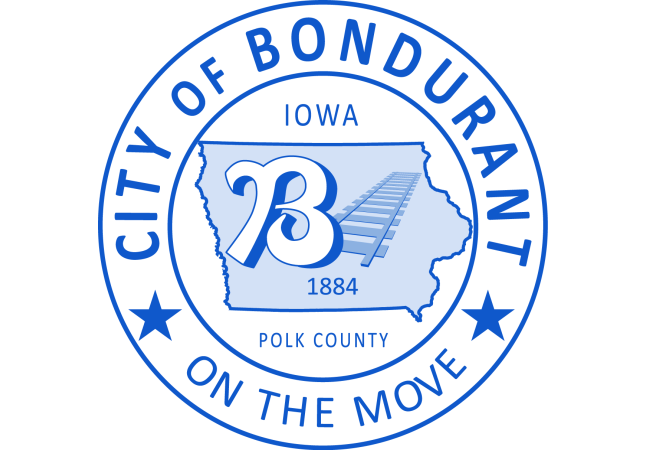 City of Bondurant Logo