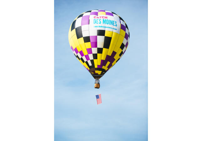 Catch Des Moines Balloon