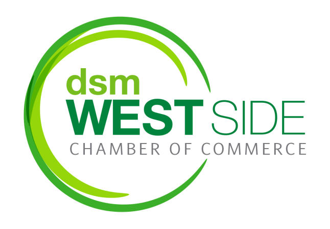 DSM West Side Chamber Logo