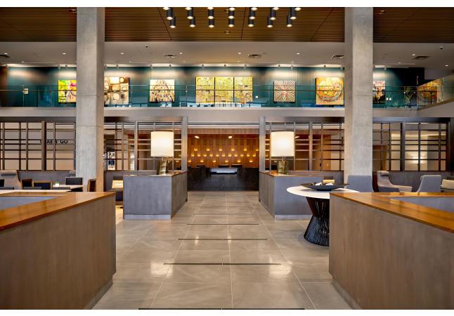 Hilton Des Moines Downtown Lobby