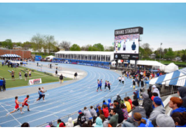 Drake Stadium - Large Sporting Event