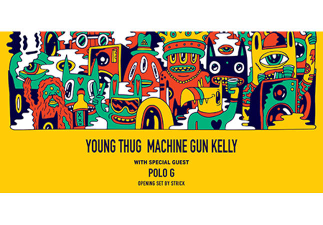 Young Thug Machine Gun Kelly With Polo G and Strick