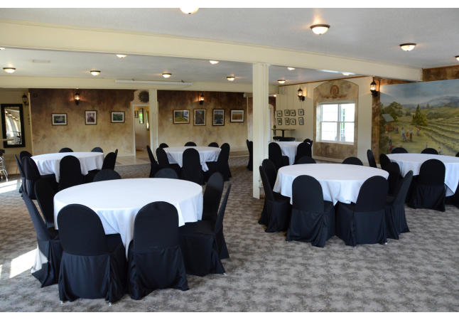 Downstairs event space