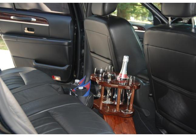 Inside sedan