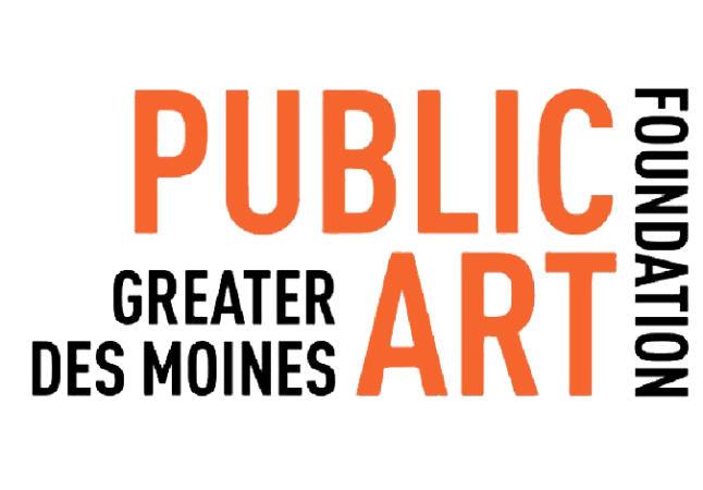 logo for DM Public Art Foundation