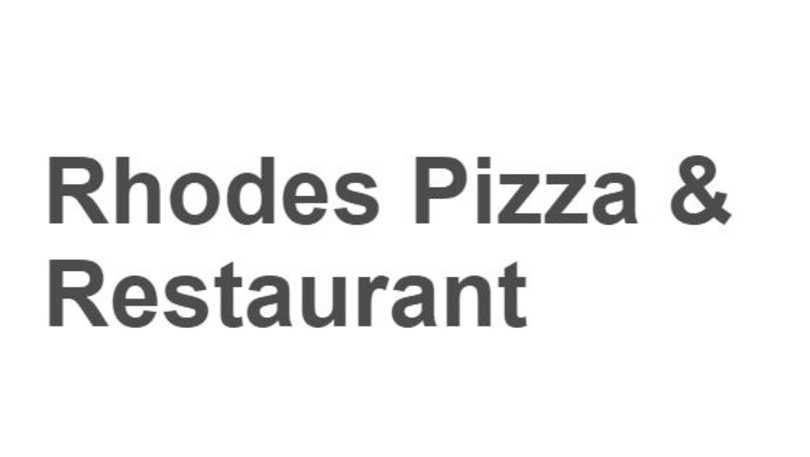 rhode's pizza
