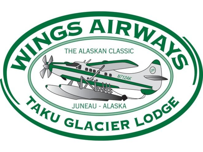 Wings Airways/Taku Lodge Logo