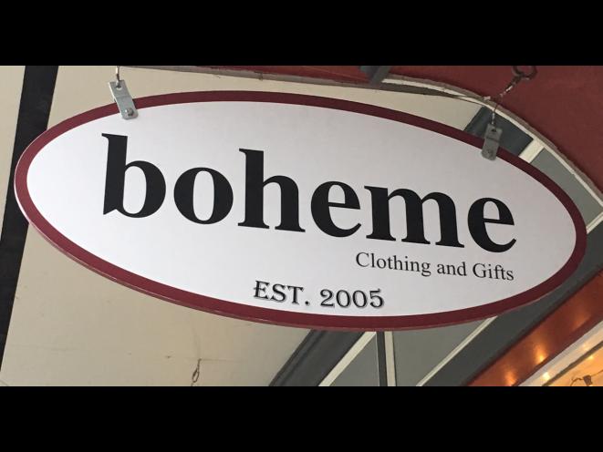 Boheme Sign logo