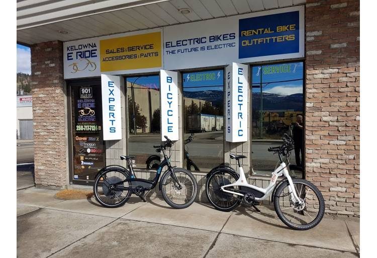 Kelowna E Ride Bike Rentals Sales