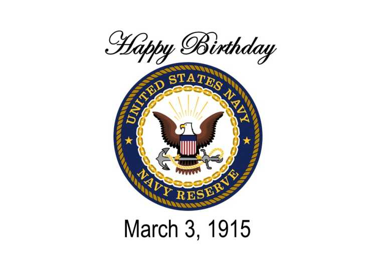 U.S> Navy Reserve Birthday