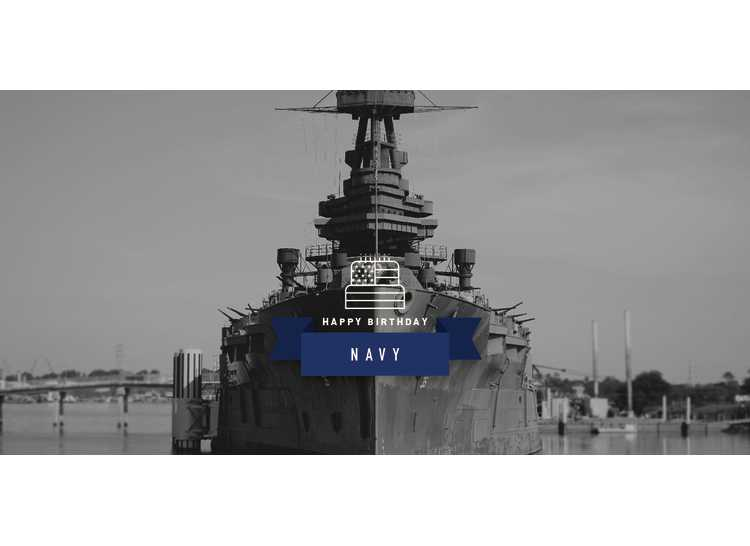Navy Birthday