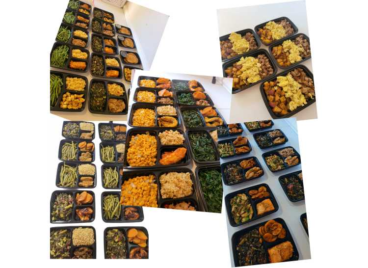 Various meal plans for weight loss and weight gain