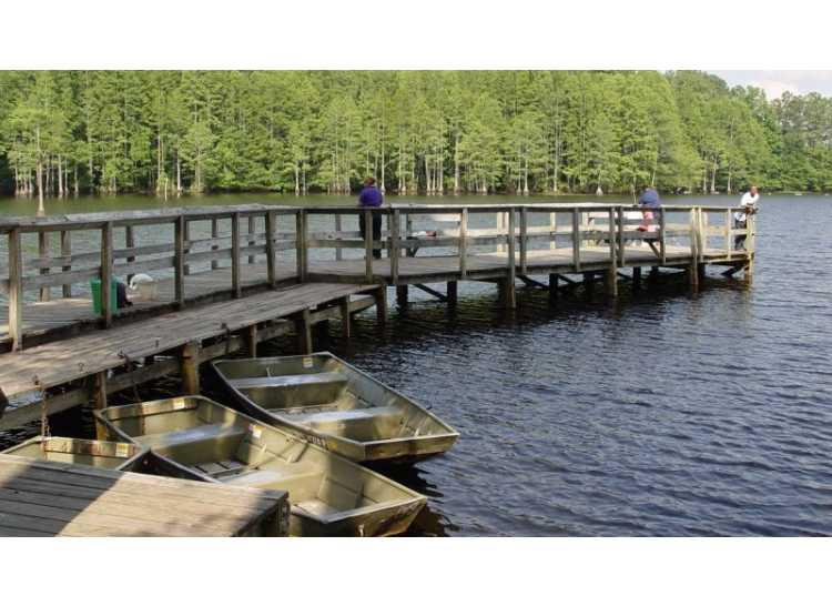 Glenville Lake at Milton E  Mazarick Park