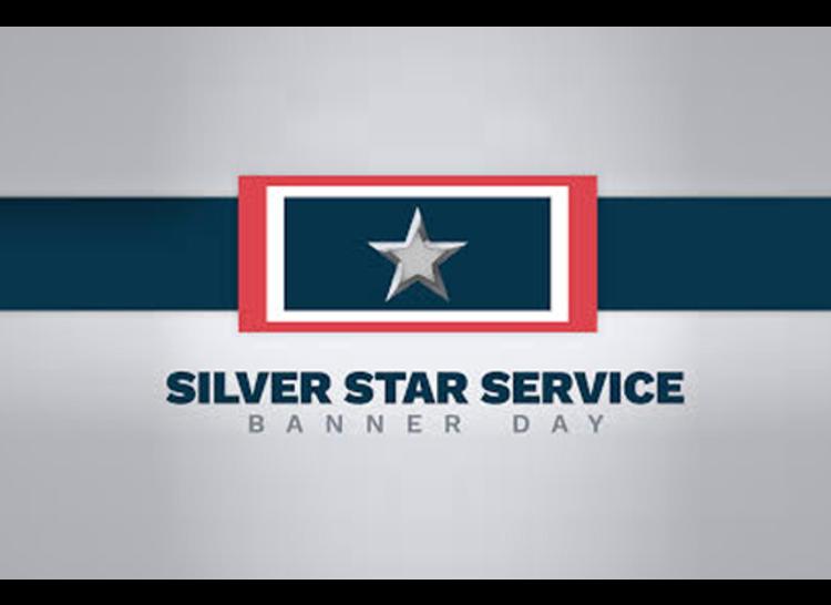 Silver Star Service Banner Day