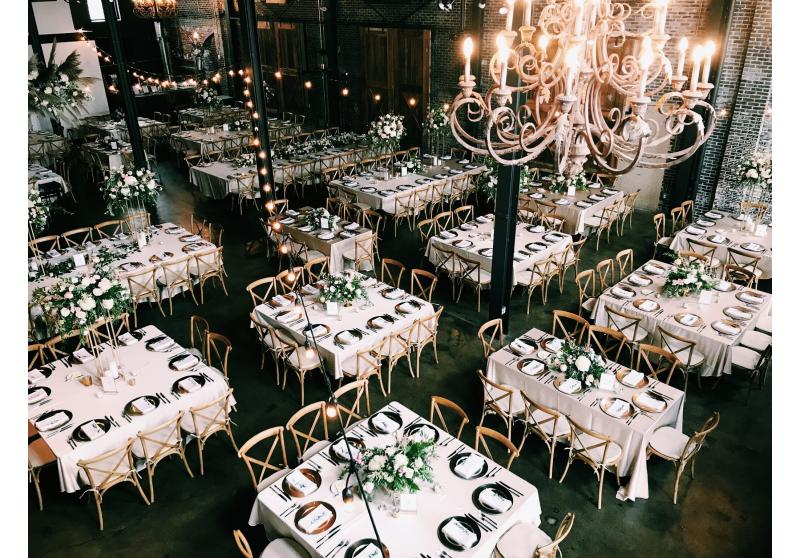wedding decor full room