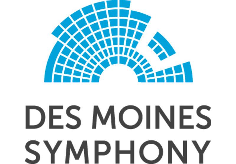 Logo for Des Moines Symphony