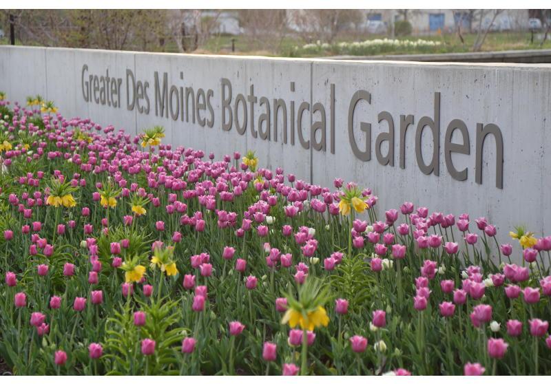 The EMC Insurance Companies Entry Garden