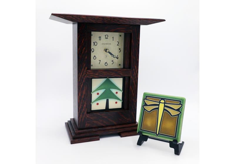 Schlabaugh Clocks and Motawi Tiles
