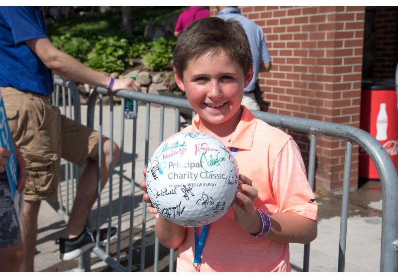The Principal Charity Classic is dedicated to helping Iowa kids succeed