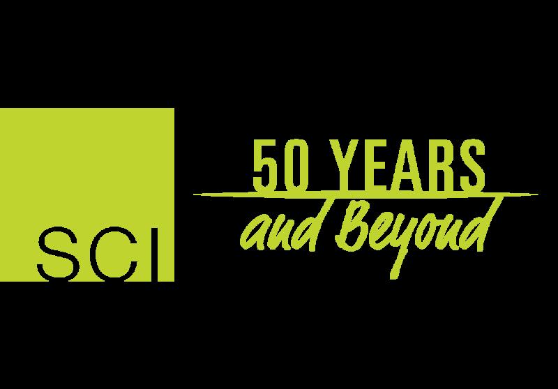 SCI_50 Years logo_green