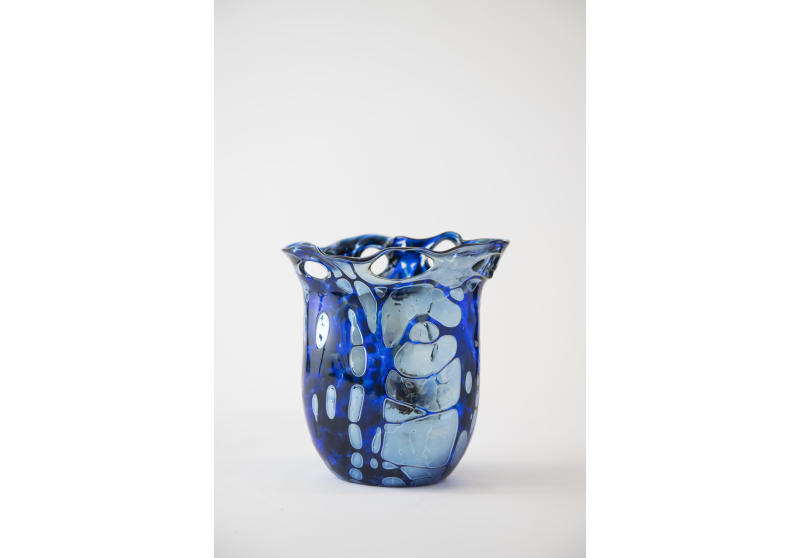 Glass Vase by JJ Gaffers