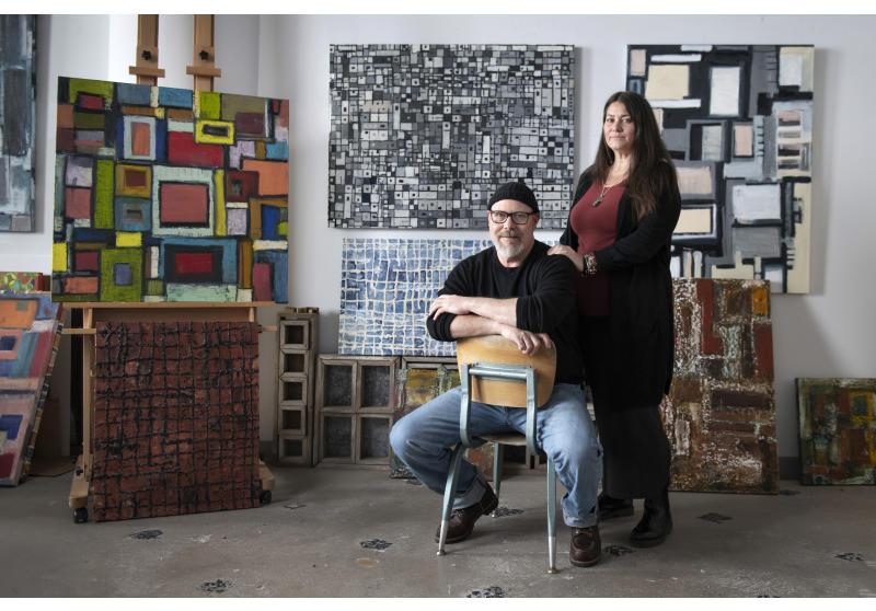 Inside the Artists Studio