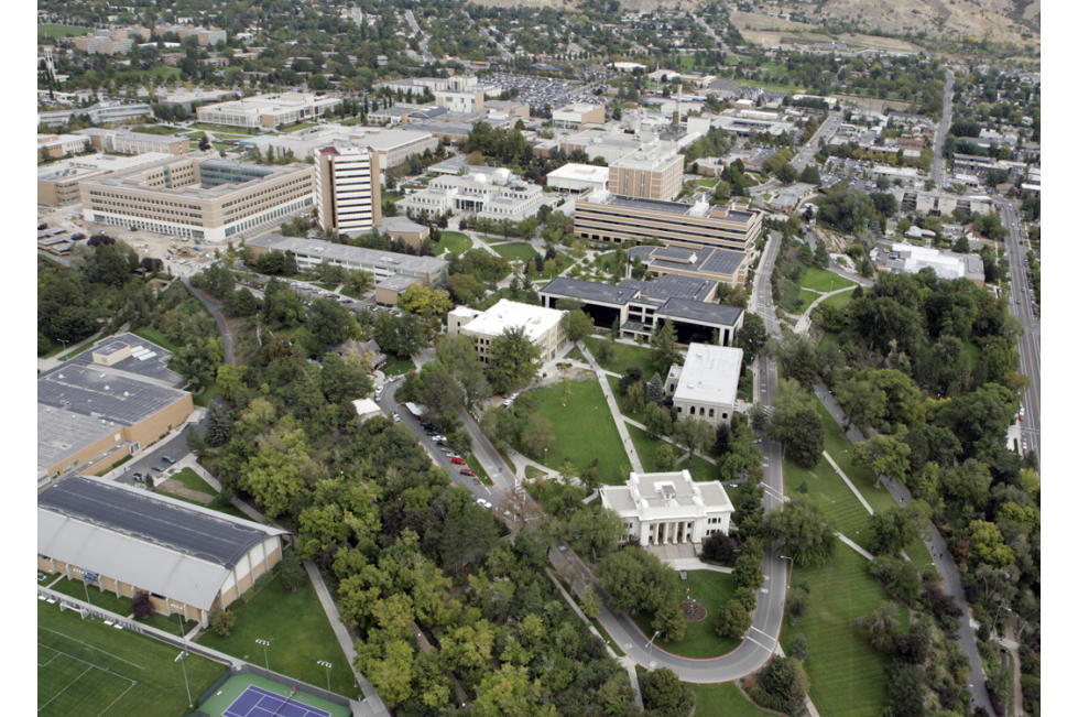 BYU Aerial View