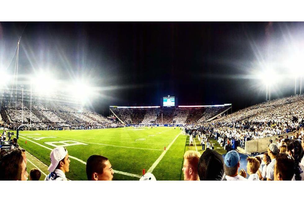 byu stadium seatside
