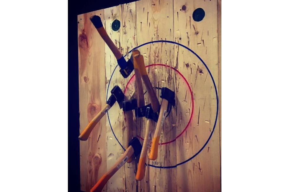 True North Axe Throwing Target