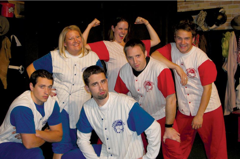 Cast of Comedy Sportz