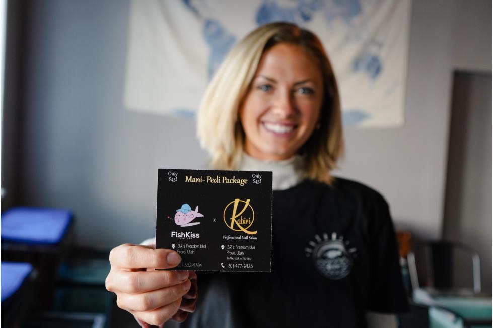 Fish Kiss Gift Card