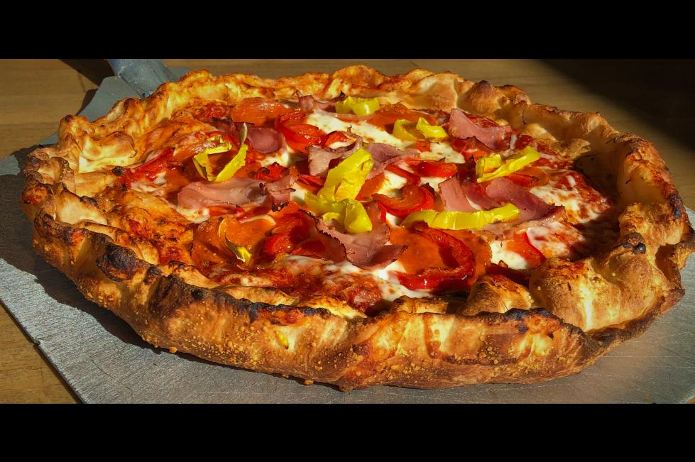 Pizza Studio Double Crust Pizza