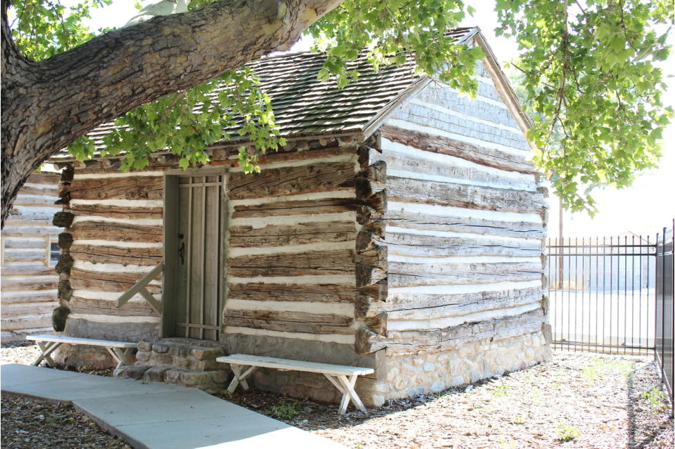 One of the Log Cabins on Site