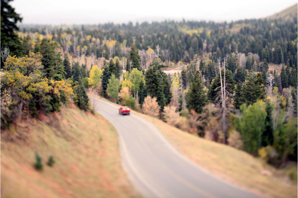 Nebo Loop in the Fall