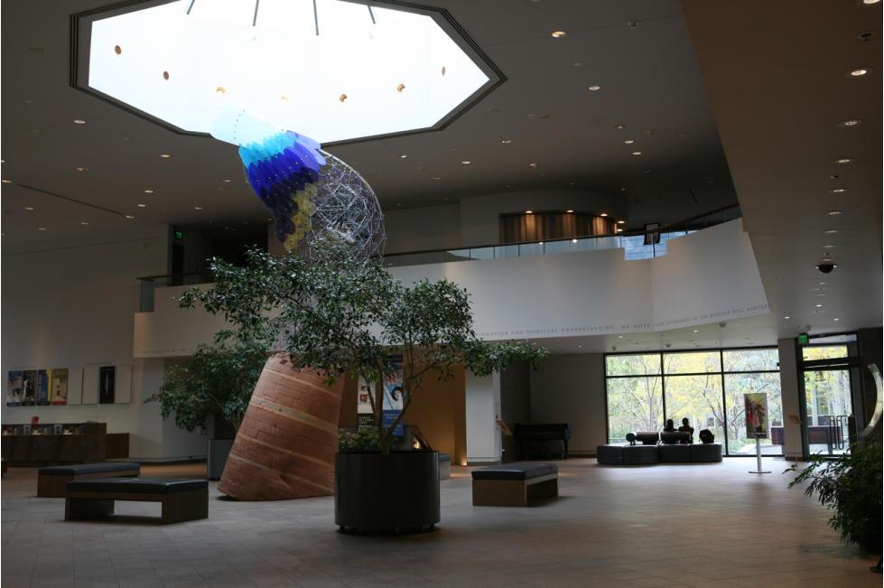 BYU Museum of Art Lobby
