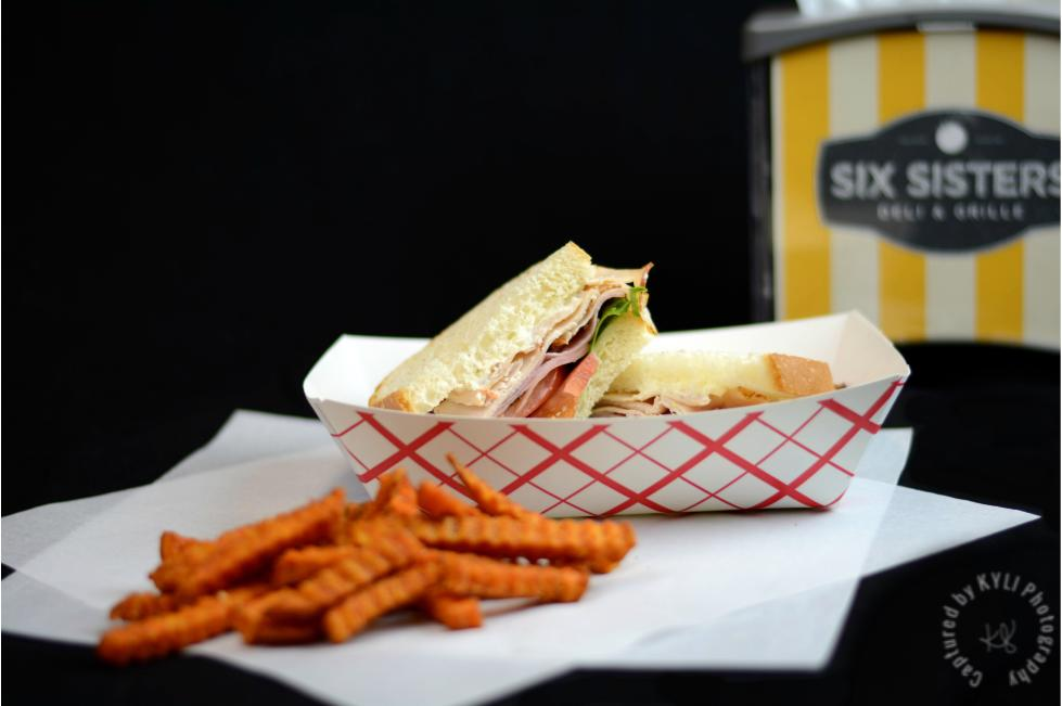 Six Sisters Deli sandwich