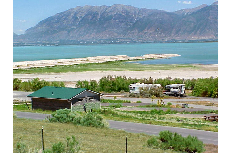 View of Utah Lake from Lincoln Beach