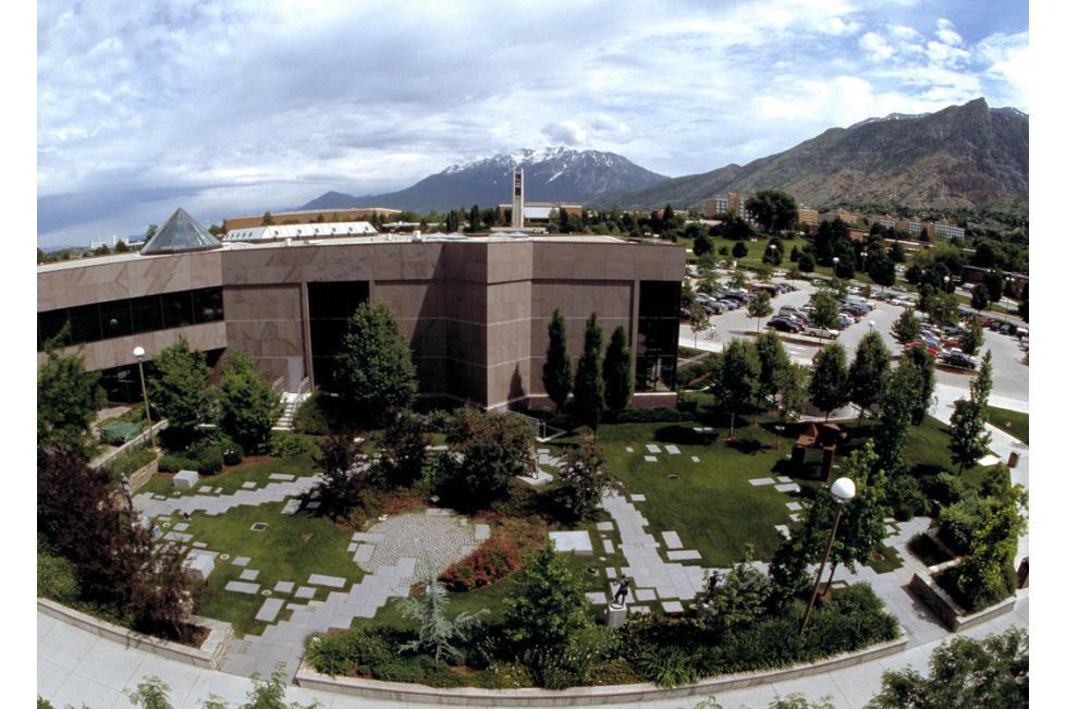 BYU Museum of Art  - Aerial