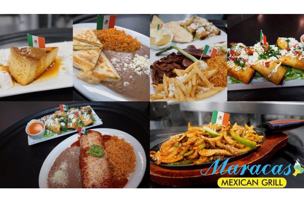 Maraca's Food Collage