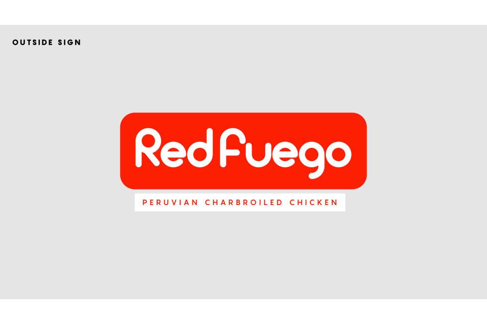 Red Fuego Sign/Logo