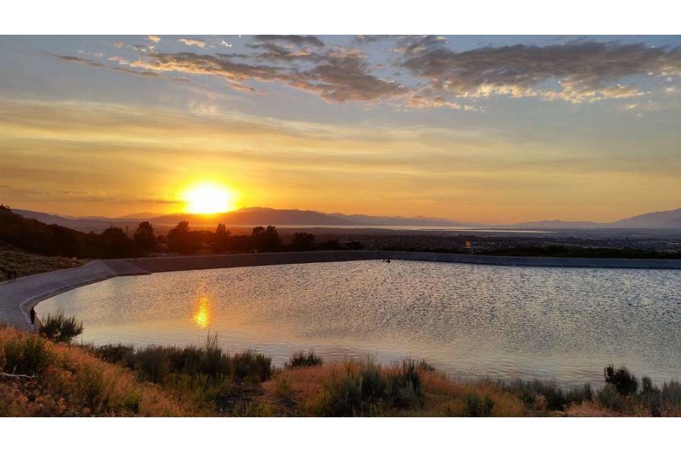 Spanish Fork Reservoir