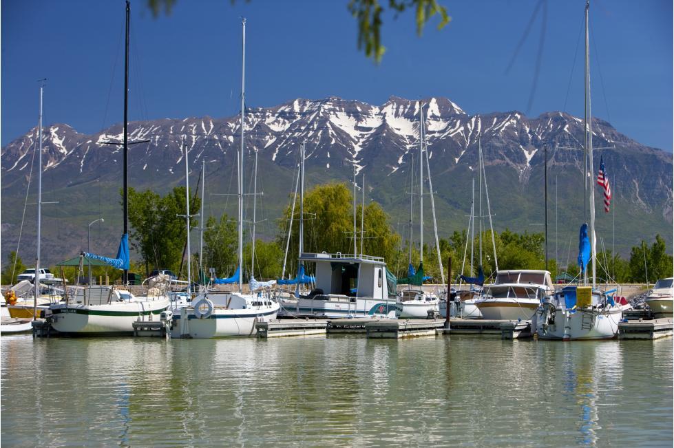 Utah Lake Harbor
