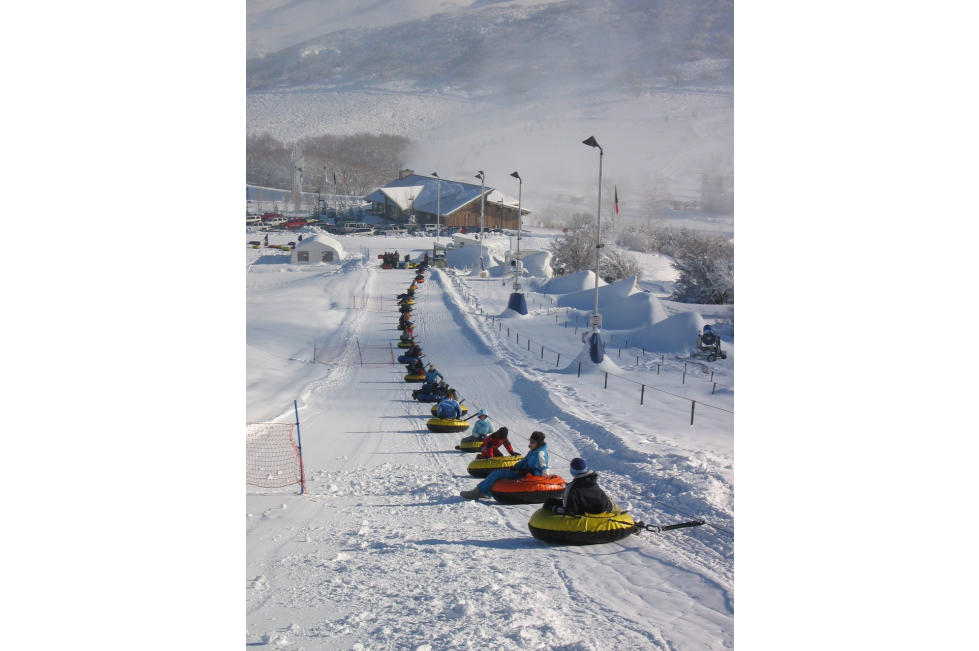 Soldier Hollow Tubing Lift Line